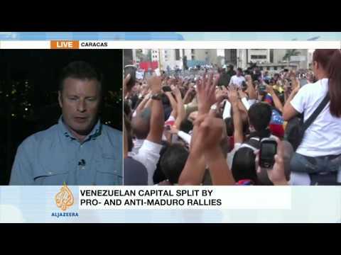 Venezuela protest leader surrenders to police