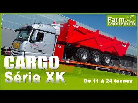 Nouvelles bennes CARGO XK - 11 à 24 tonnes