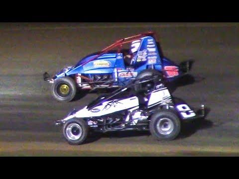 RUSH Sprint Car Feature | McKean County Family Raceway | 9-29-18