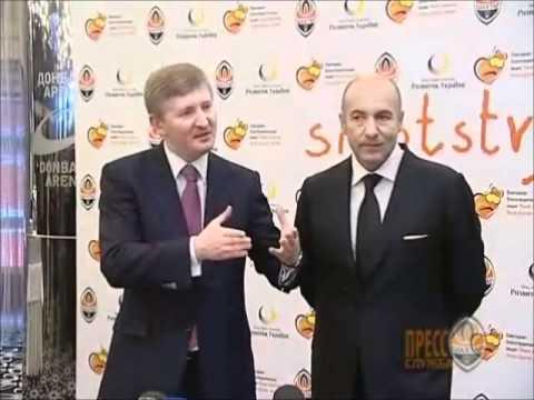 Rinat Akhmetov, Igor Krutoy, Anatoly Zabolotny at press-conference on St.Nicholas Day' 10