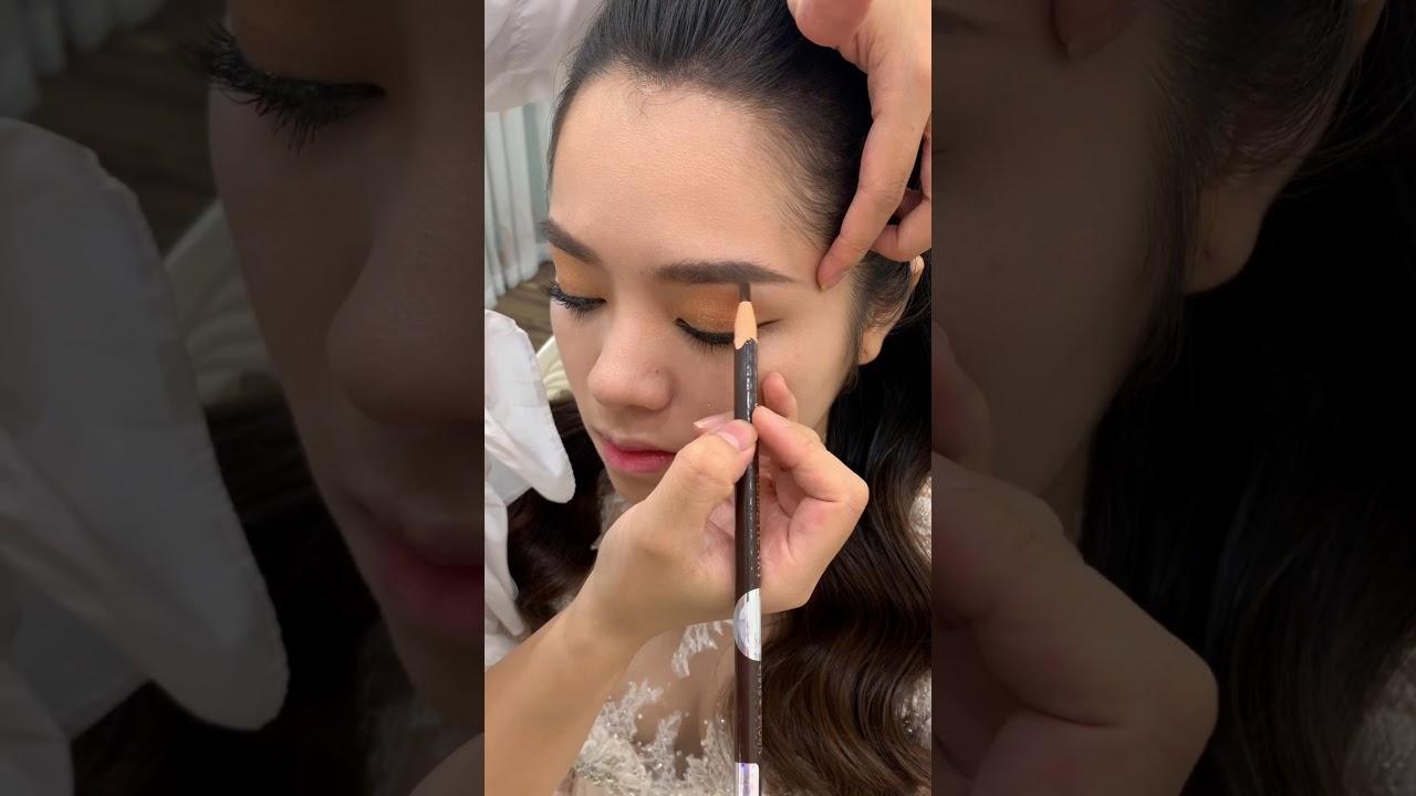 Mini Clip Hướng dẫn Makeup cô dâu ngày ăn hỏi – Mai Đỗ Makeup