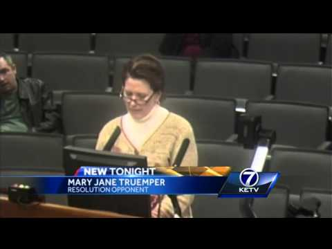 Omaha City Council adopts resolution, asks McPherson to step down