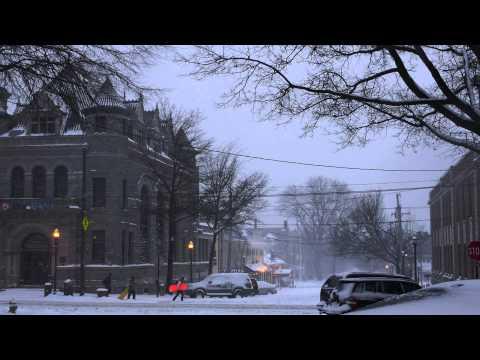 Winter in Media, PA