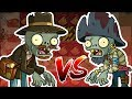 Relic Hunter Zombie vs Swashbuckler Zombie   Plants vs Zombies 2 Epic MOD