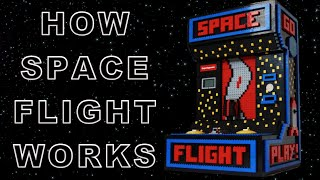 How it works: Space Flight - LEGO arcade game