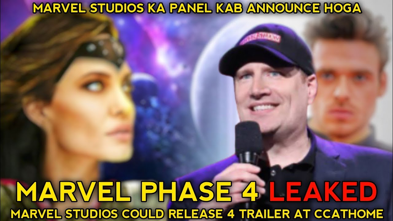 Comic Con At Home Announce Marvel Studios Panel Release Date | Comic Con 2020 Marvel Studios Leaked