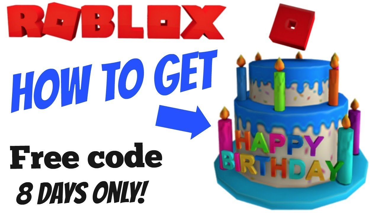 Roblox Free Promo Code For Birthday Cake Hat Closed Youtube