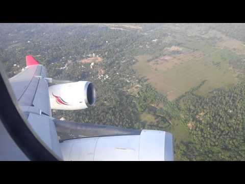 Colombo Take off A-340 Sri Lankan Airlines