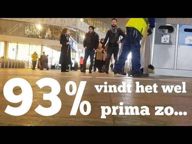 Resultaat deelnemers workshop SmartPhoneVideo DIY in ONE day! 93% vindt het prima zo...