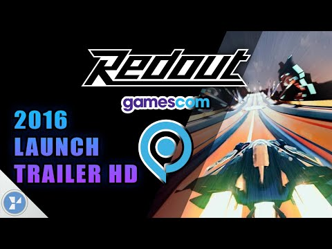 Redout - Launch Trailer HD - Gamescom 2016 60fps HD Racing