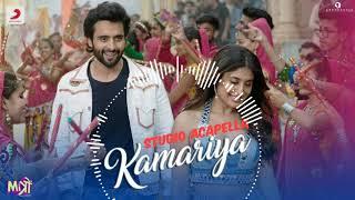 Kamariya - Mitron | STUDIO Acapella | Free Download