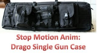 "Stop Motion Animation: Drago Gear 36"" Single Gun Case"