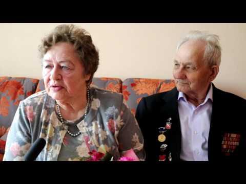 Андрей Ильин поздравил супружескую пару Жуковых с бриллиантовой свадьбой