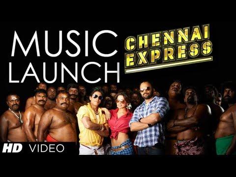 Chennai Express Music Launch | Shahrukh Khan, Deepika Padukone, Rohit Shetty