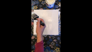 How To Prime a Canvas for Alcohol Ink