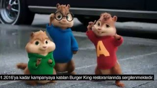 Burger King Alvin ve Sincaplar