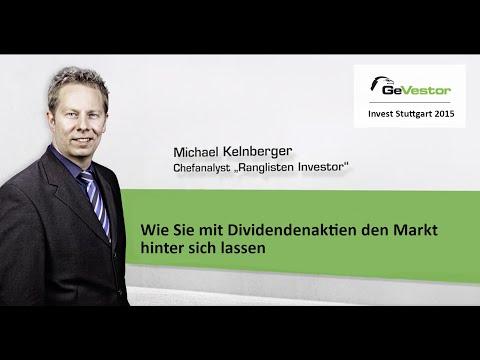 Invest 2015: Michael Kelnberger über Dividendenaktien