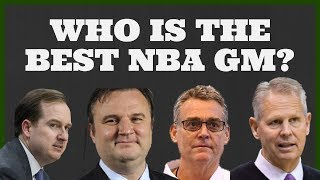 The Best NBA General Managers and Front Office