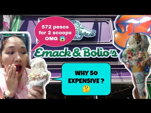 EMACK & BOLIO'S ICE CREAM IN HONGKONG || WHY SO EXPENSIVE? REVIEW + FIRST IMPRESSION