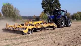 Pokazy rolnictwa precyzyjnego New Holland w Jakubowicach | Agro Profil magazyn rolniczy