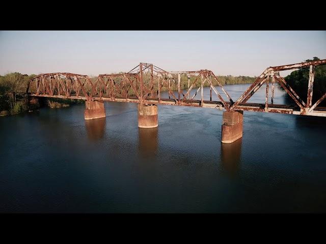 Santee bridge   Aerial Footage