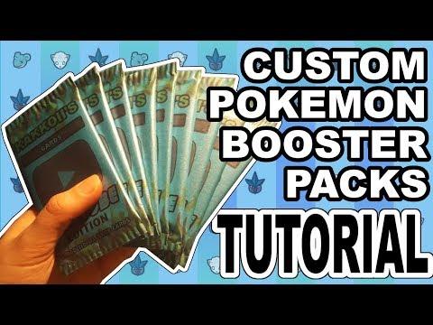 How To Make Your Own Custom Pokemon Booster Packs! | TCG Corner #2