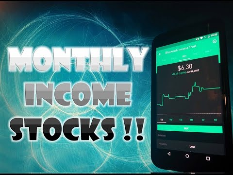 Robinhood APP - HIGH INCOME Monthly Dividend Stocks