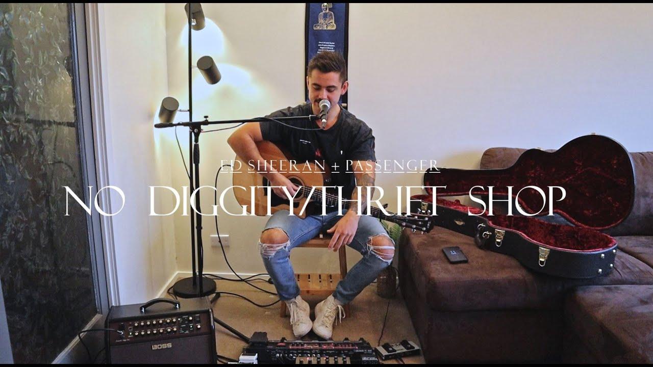 Download Ed Sheeran & Passenger - No Diggity/Thrift Shop (Cover by Balin Thomas)