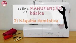 Como limpar e lubrificar sua máquina de costura doméstica (DIY Tutorial com a Bel)