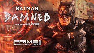 Prime1Studio: Batman Damned Deluxe Version Concept Design by Lee Bermejo (Batman Comics) Statue