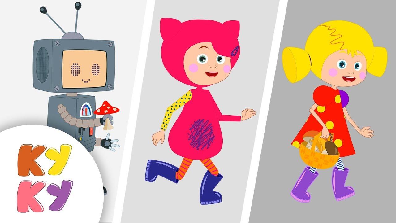 ОСЕНЬ - Кукутики - Песни мультики для детей про времена года