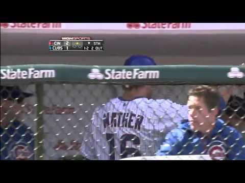 2012/04/22 Cubs score on error