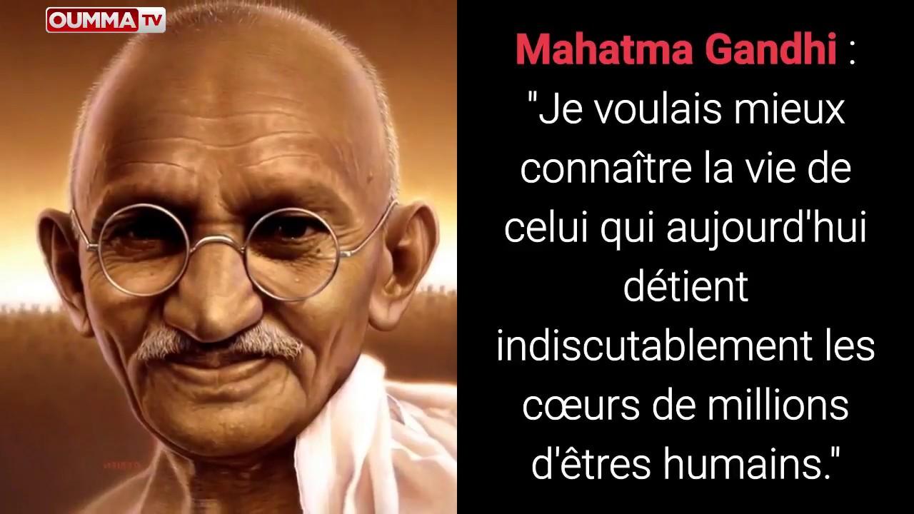 Une Citation De Gandhi Apotre De La Non Violence Sur Le Prophete