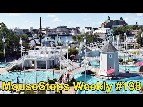MouseSteps Weekly #198 Disney's Beach Club Resort Concierge;