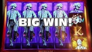 ✖THE WHEEL OF DEATH!!! ✖ CIRQUE DU SOLEIL - KOOZA ✖ BIG WIN ✖ [Slot Machine Big Win Bonus]