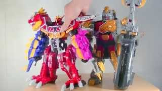 DXギガントブラギオー変形合体!1Power Rangers Dino Charge