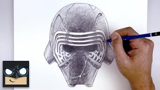 How To Draw Kylo Ren | Star Wars: The Rise of Skywalker