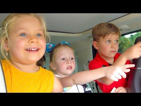 Настя и выпускной в детском саду с Ромой и Дианой