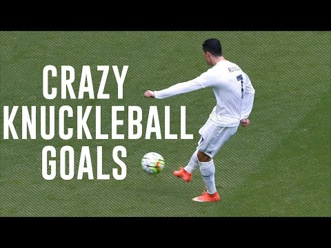 Cristiano Ronaldo - Crazy Knuckleball Goals Ever - 2007/2016 HD