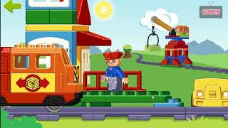 Chơi Lego Train lego xe lửa tàu hỏa cu lỳ chơi game