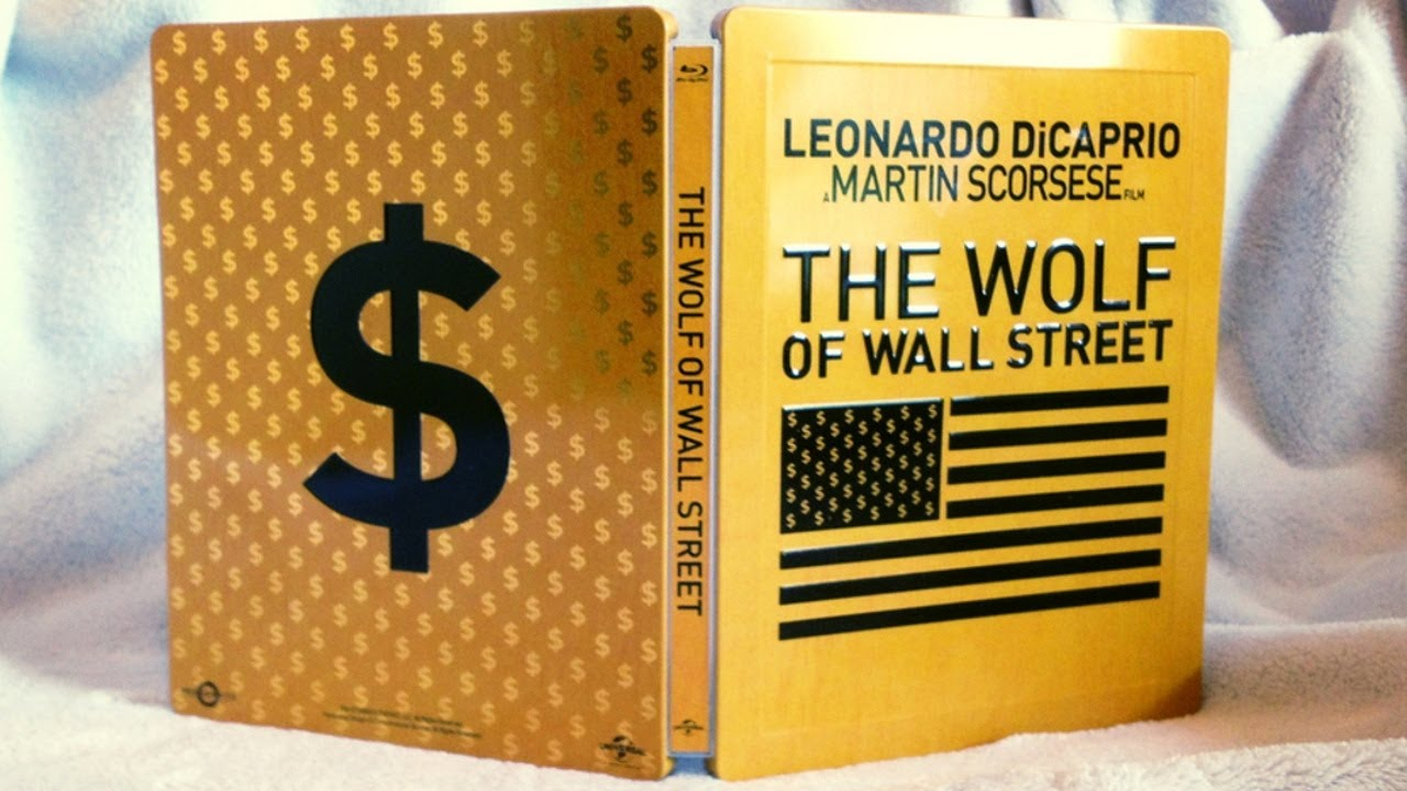 Wolf Of Wall Street Blu Ray The Wolf of Wall Stree...