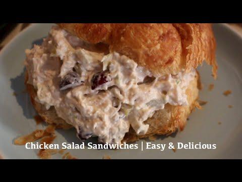 Chicken Salad Sandwiches | Easy & Delicious Recipe!