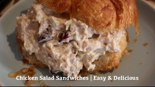 Chicken Salad Sandwiches  Easy & Delicious Recipe!