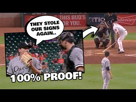 ASTROS CAUGHT CHEATING (100% PROOF AND VIDEO)