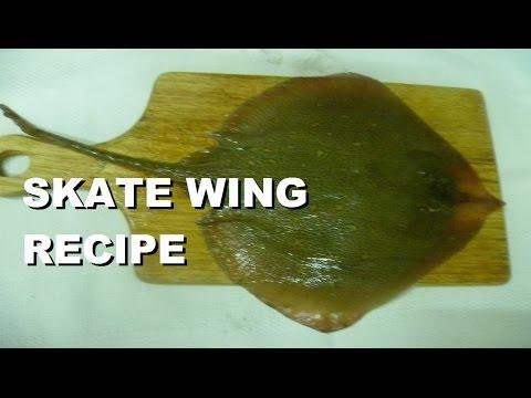 Italian Food Skate Wing Recipe Skate Fish Fry #fish Italian Food