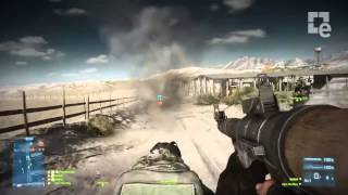 Battlefield 3: End Game Capture the Flag Gameplay