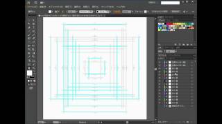 イラストレーター使い方(チラシ作成用のテンプレートの使い方)2 thumbnail