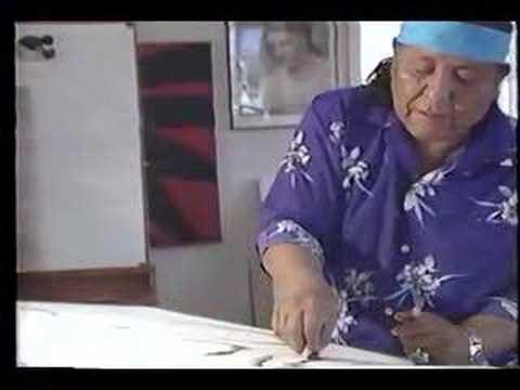 Navajo Artist RC Gorman - Drawing