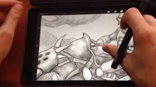 Crabfu: Wacom Creative Stylus Review/mod For Ipad Air