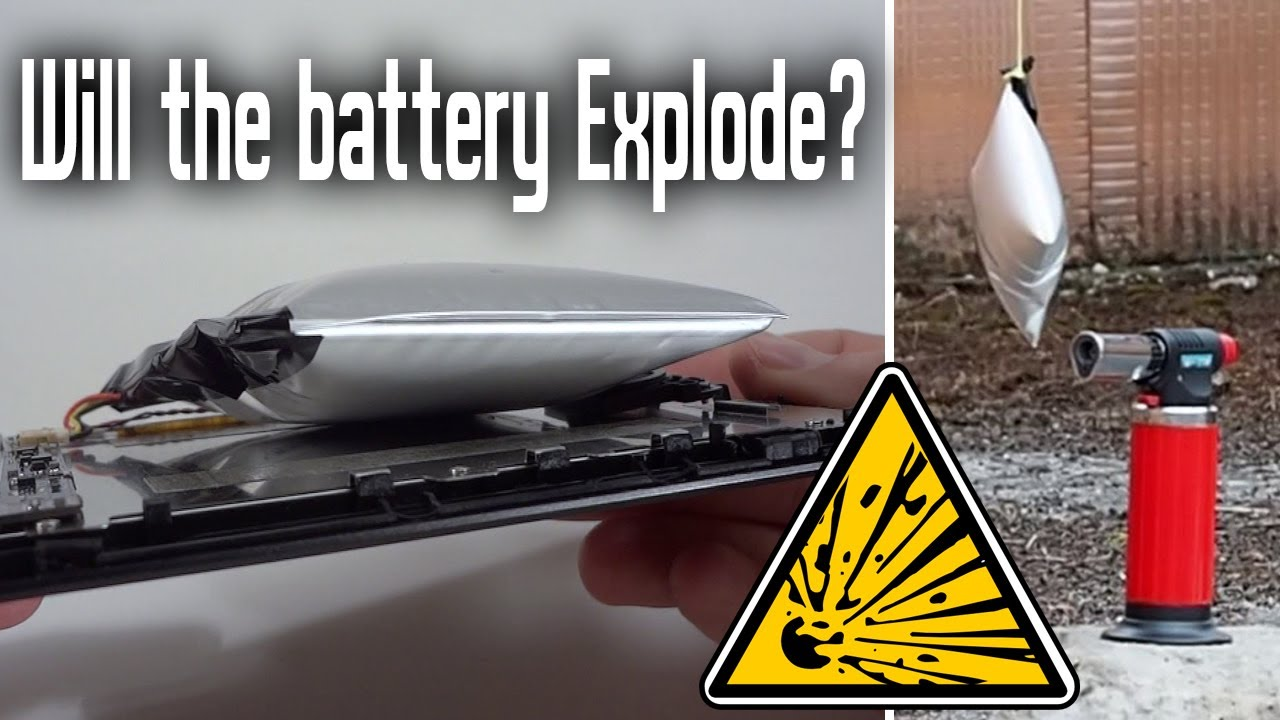 Will the Bulging Swelling battery Explode? What is inside?